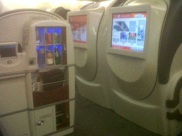 Emirates, EK503, Mumbai – Dubai (Boeing 777-200ER), First